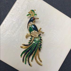 Jewelry - Peacock brooch